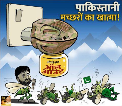 पाकिस्तानी मच्छरों का खात्मा!